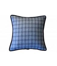Light Blue Plaid / Solid Blue