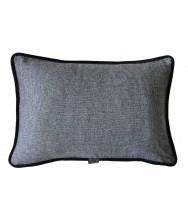 Grey Check / Black Velvet