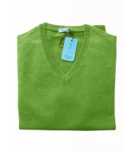 Battisti Sweater: Green