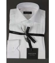 Benjamin Dress Shirt: White