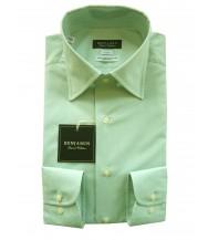 Benjamin Dress Shirt: Green