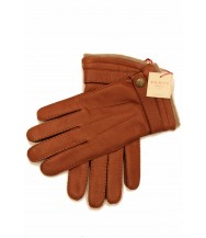 Dents: Handsewn Cashmere lined Deerskin Gloves