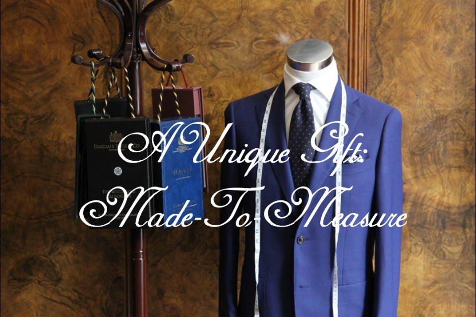 The Wardrobe made to measure custom tailored clothing