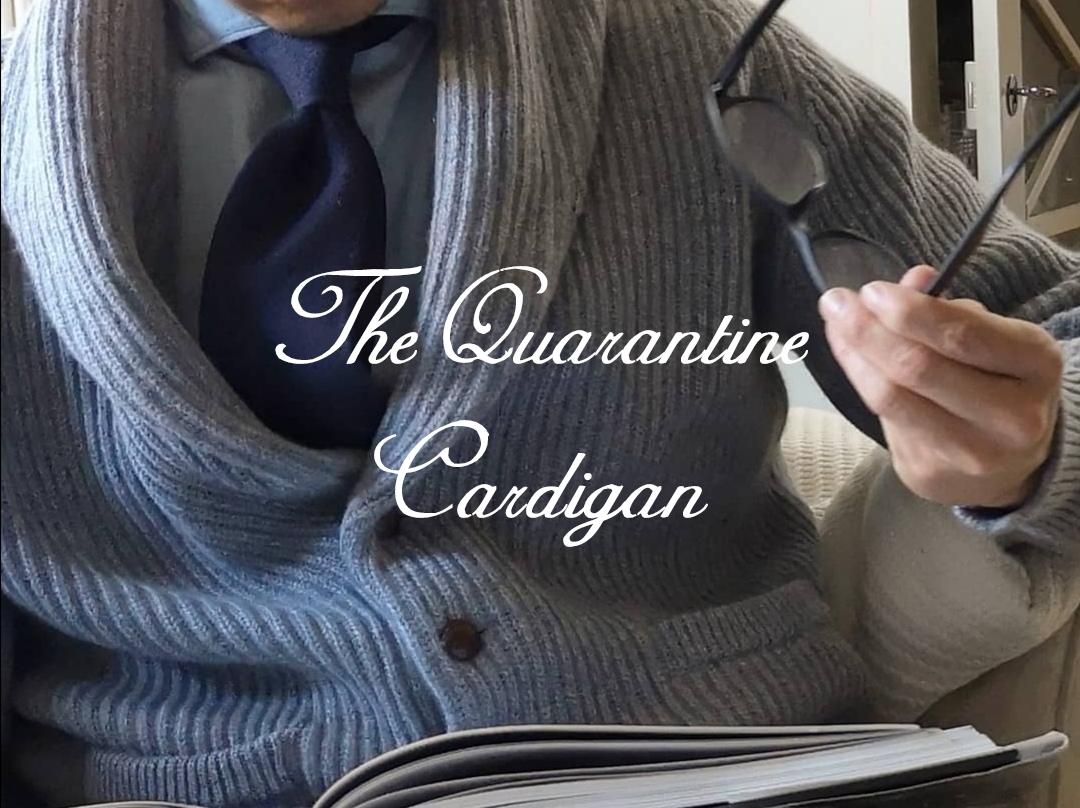 cashmere camel hair shawl cardigan