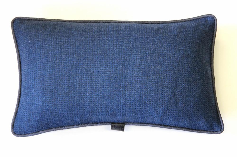 Aqua Blue & Grey Check