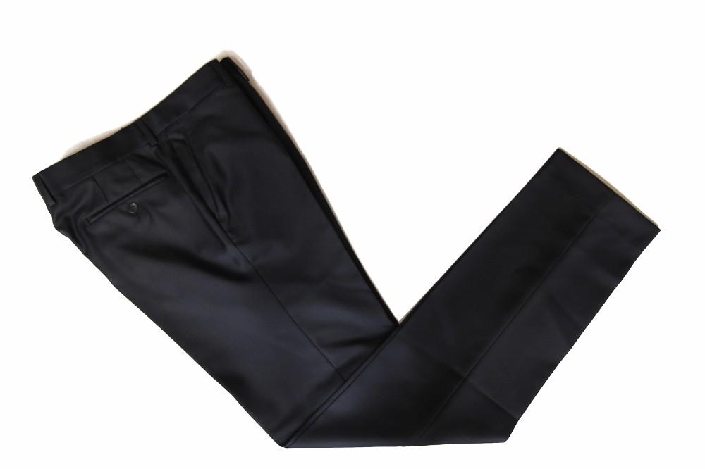 The Wardrobe Trousers Dark Navy Super 110s