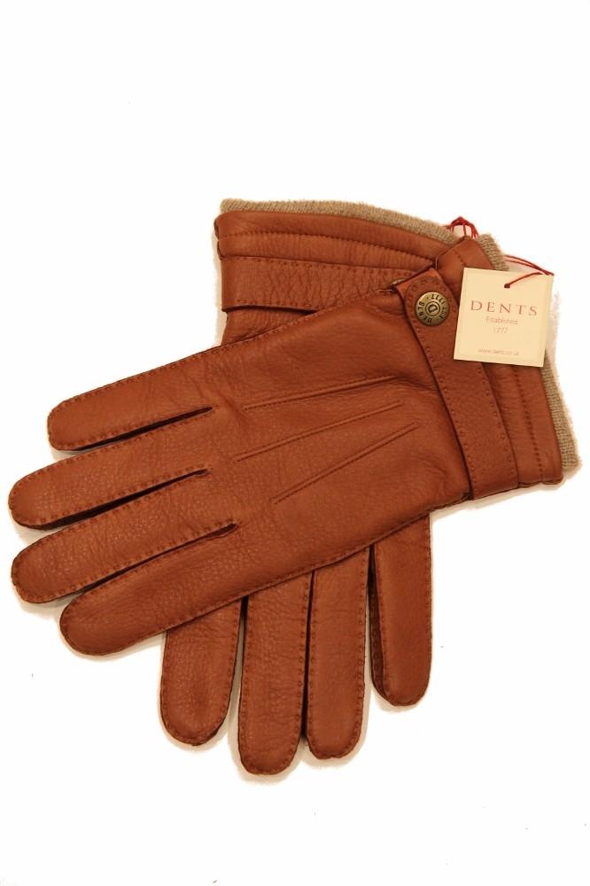 Dents: Handsewn Cashmere lined Deerskin Gloves