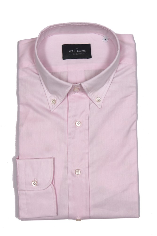 The Wardrobe Casual Shirt: Light Pink