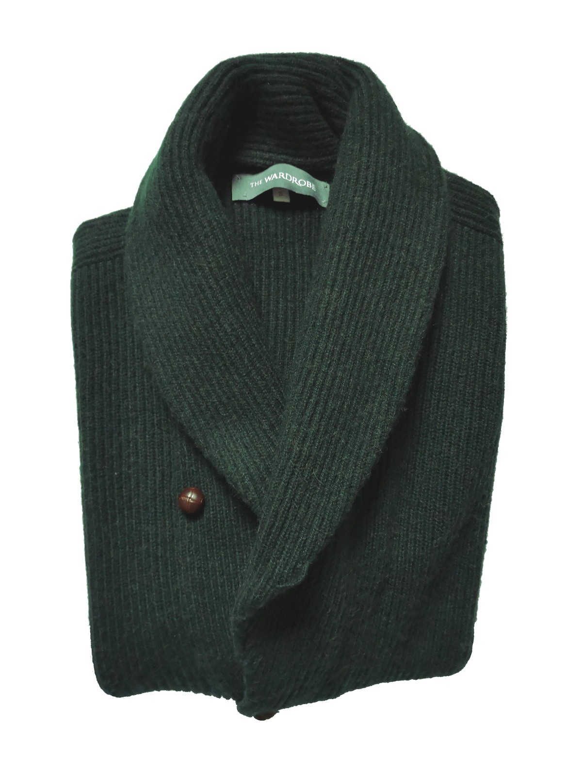 The Wardrobe Sweater Bottle Green