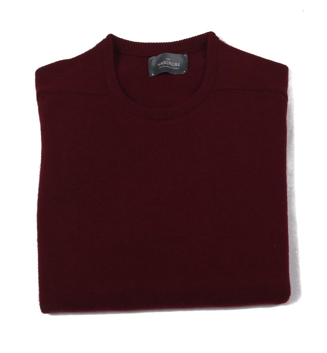 The Wardrobe Sweater: Bordeaux