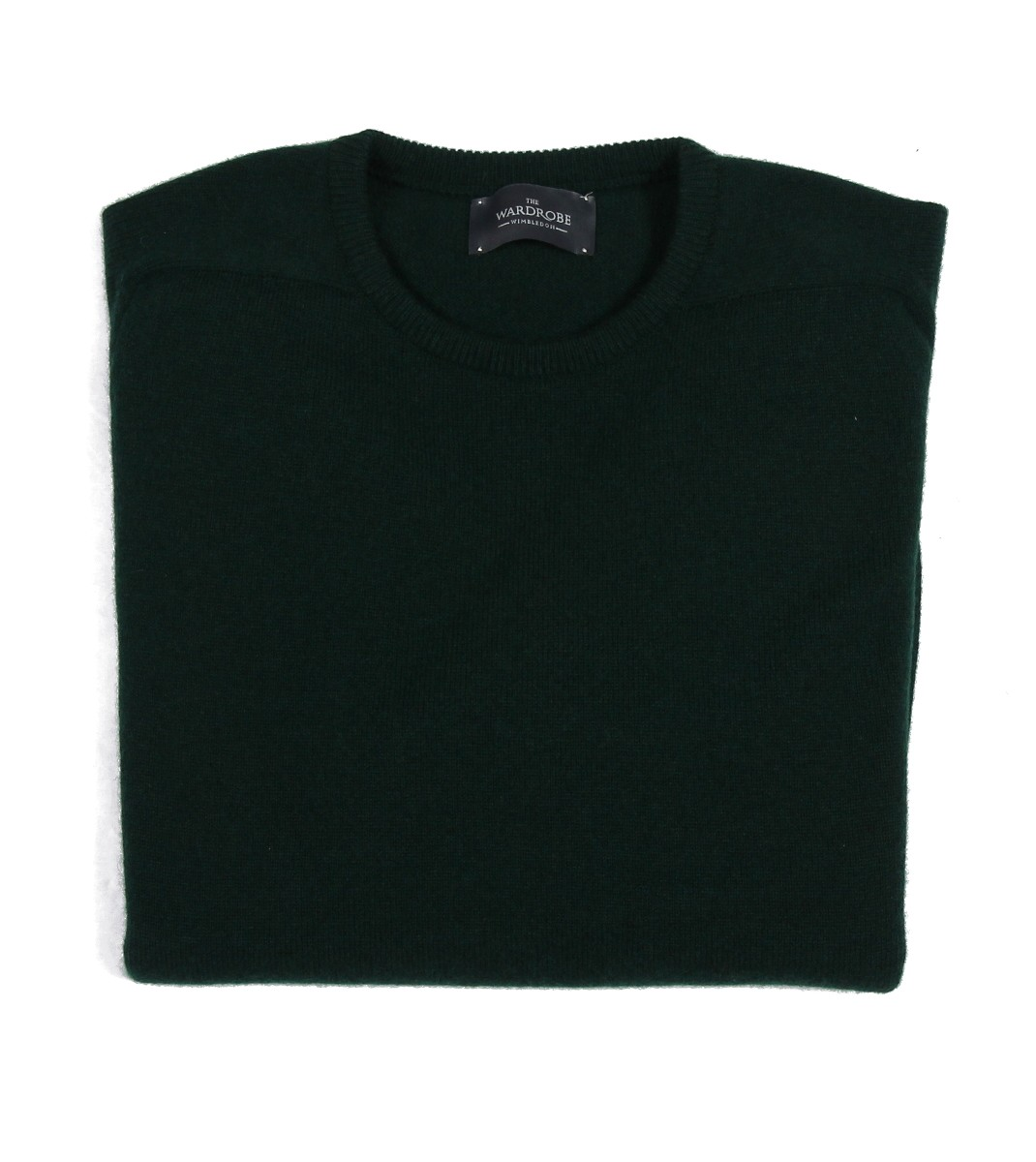 The Wardrobe Sweater: Bottle Green