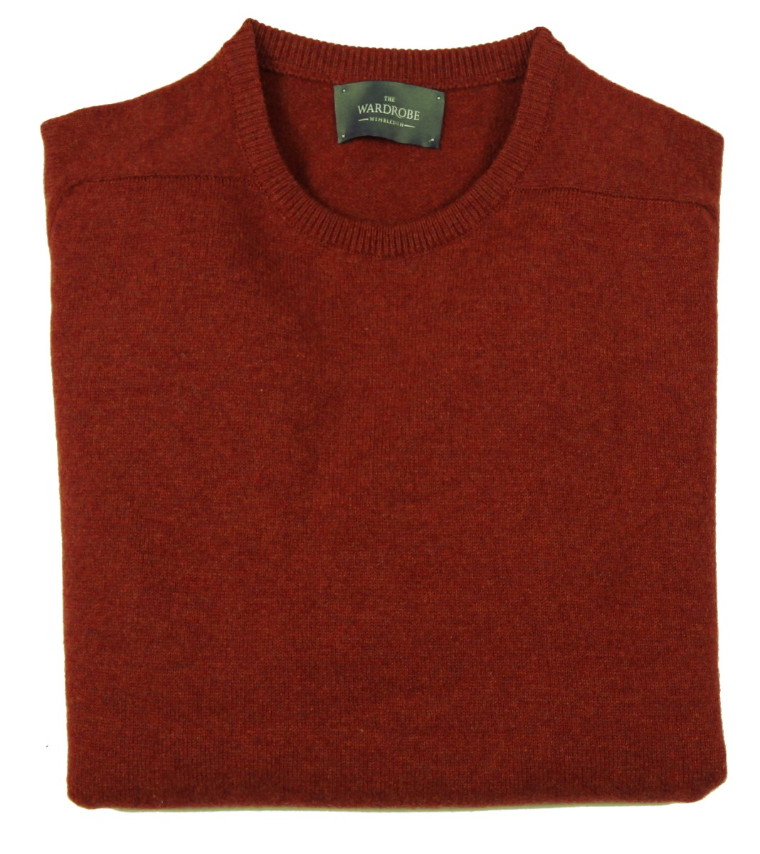 The Wardrobe Sweater: Burnt Orange