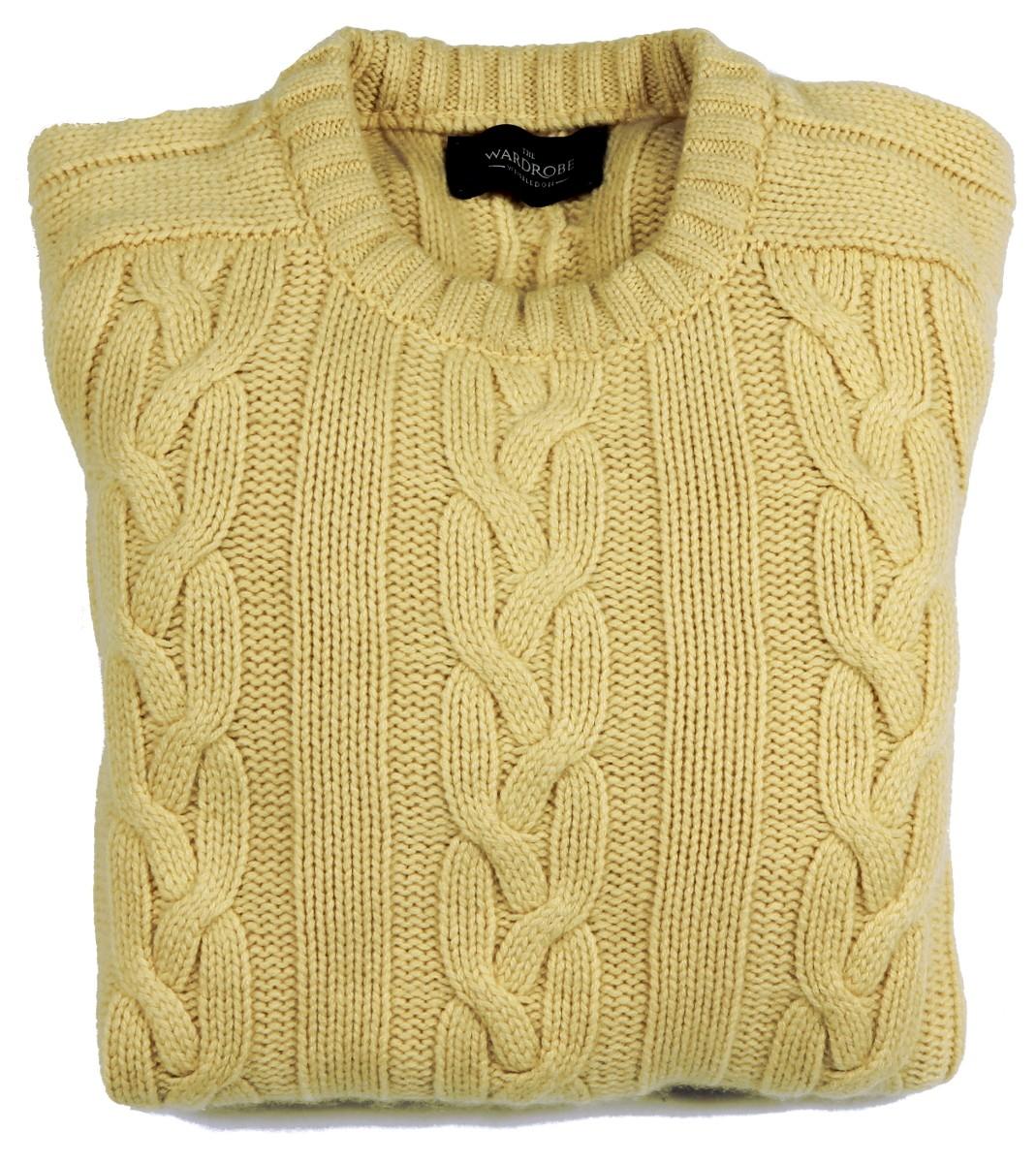 The Wardrobe Sweater: Small Pale Yellow