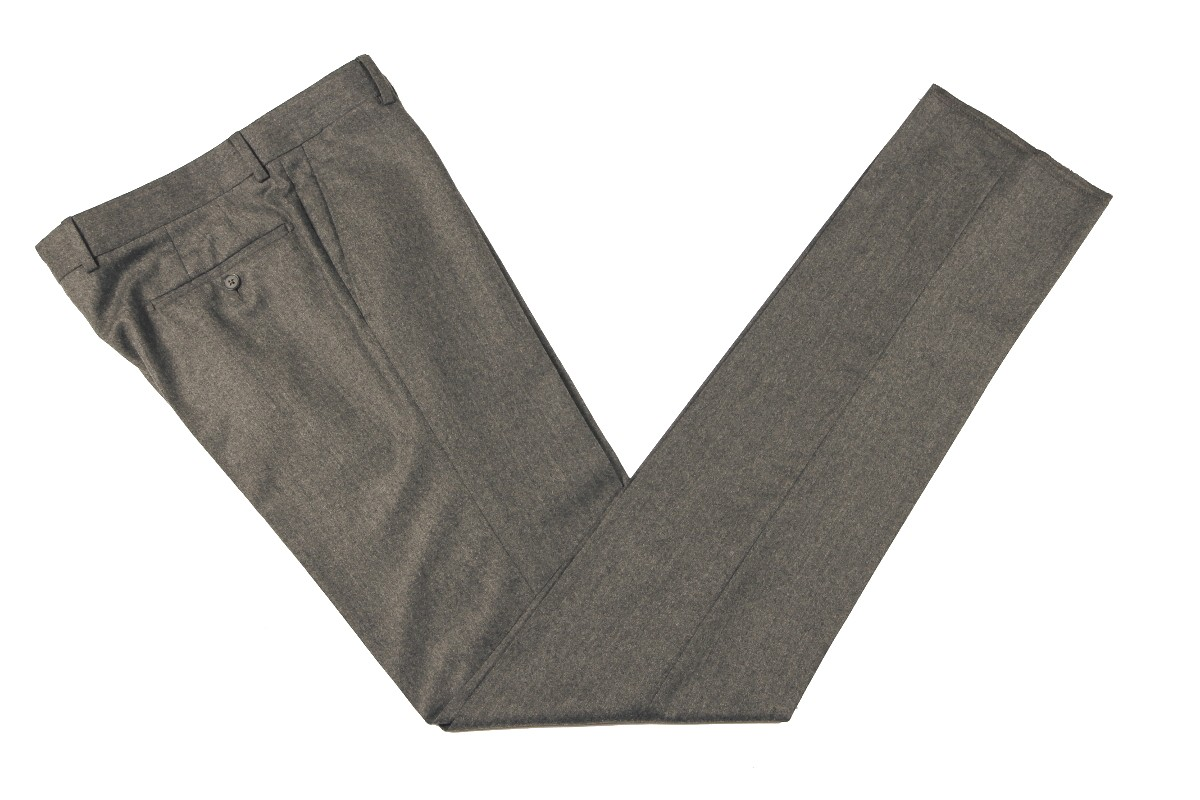 The Wardrobe Trousers: Light Charcoal Doeskin