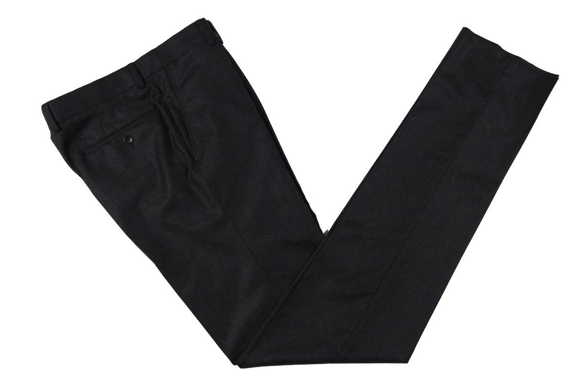The Wardrobe Trousers: Dark Charcoal Doeskin