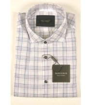 Benjamin Sport Shirt: Blue Plaid
