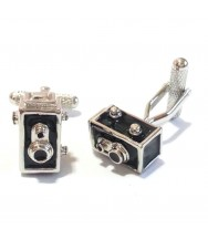 Benson & Clegg: Box Camera Cufflinks