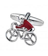 Benson & Clegg: Cyclist Cufflinks