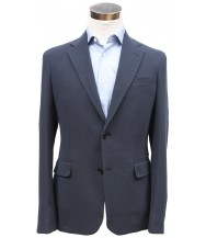 Bella Spalla Sport Coat: Navy Weave