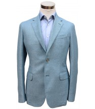 Bella Spalla Sport Coat: Sky Blue