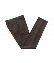 Benjamin Trousers Dark taupe-grey puppytooth