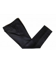 The Wardrobe Trousers Dark Navy Super 110s