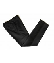 The Wardrobe Trousers Charcoal Super 110s