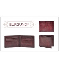 Andres Sendra Wallet: Burgundy Stucco