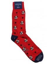 Corgi Sock: Large Red Saint Bernard