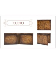 Andres Sendra Wallet: Cuoio Stucco