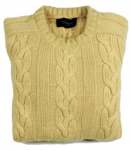 The Wardrobe Sweater: Small Pale Yellow