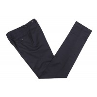 The Wardrobe Trousers Dark Navy Doeskin